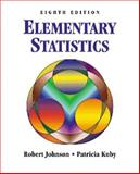 Elementary Statistics, Johnson, Robert and Kuby, Patricia, 0534356761