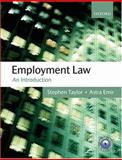 Employment Law : An Introduction, Taylor, Stephen and Emir, Astra, 0199286760