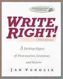 Write Right, Jan Venolia, 0898156769