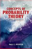 Concepts of Probability Theory, Pfeiffer, Paul E., 0486636771