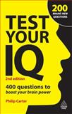 Test Your IQ, Philip J. Carter and Ken Russell, 0749456779