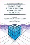 Knowledge Representation and Defeasible Reasoning, , 0792306775