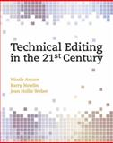 Technical Editing in the 21st Century, Nowlin, Barry and Amare, Nicole, 0131196774