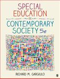 Special Education in Contemporary Society : An Introduction to Exceptionality, Gargiulo, Richard M., 1452216770