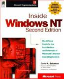 Inside Windows NT, Custer, Helen and Solomon, David A., 1572316772