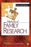 Methods of Family Research, Greenstein, Theodore N., 1412916771