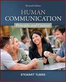 Human Communication : Principles and Contexts, Tubbs, Stewart L., 007803678X