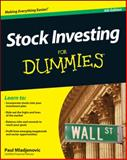 Stock Investing for Dummies®, Paul Mladjenovic, 1118376781
