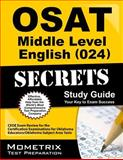 OSAT Middle Level English (024) Secrets Study Guide 9781614036784