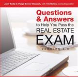 Questions and Answers to Help You Pass the Real Estate Exam V8. 0, John Reilly and Paige Vitousek, 1427776784