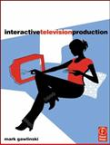 Interactive Television Production, Gawlinski, Mark, 0240516796