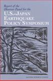 Report of the Observer Panel for the U. S. -Japan Earthquake Policy Symposium, National Research Council Staff, 0309086795