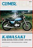 Kawasaki-KZ400, KZ/Z440, EN450 and EN500, 1974-1994, Clymer Publications Staff, 0892876794