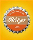 Introductory Algebra for College Students, Blitzer, Robert F., 0132356791