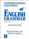 Understanding and Using English Grammar, Azar, Betty Schrampfer, 0139586792