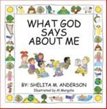 What God Says about Me, Shelita M. Anderson, 1618636790
