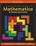 A Problem Solving Approach to Mathematics for Elementary School Teachers, Billstein, Rick and Libeskind, Shlomo, 0321156803