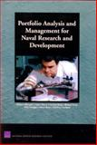 Portfolio Analysis and Management for Naval Research and Development, Richard Silberglitt and Lance Sherry, 0833036815