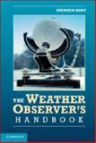 The Weather Observer's Handbook, Burt, Stephen, 1107026814
