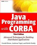 Java Programming with CORBA, Gerald Brose and Keith Duddy, 0471376817