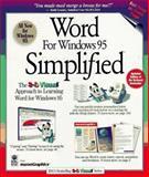 Word for Windows 95 Simplified, Maran Graphics Staff, 1568846819