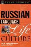 Teach Yourself Russian Language Life and Culture, Webber, Stephen and Webber, Tatyana, 0071396810