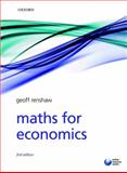 Maths for Economics, Renshaw, Geoff, 019923681X