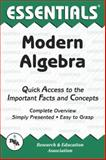 Modern Algebra Essentials, Research & Education Association Editors and Lutfi A. Lutfiyya, 0878916814