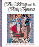 Marriage and the Family Experience : Intimate Relationships in a Changing Society, Strong, Bryan and DeVault, Christine, 0534556825