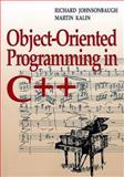 Object-Oriented Programming in C++, Johnsonbaugh, Richard and Kalin, Martin, 0023606827