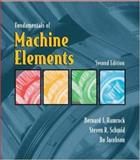 Fundamentals of Machine Elements, Hamrock, Bernard J. and Schmid, Steven R., 0072976829