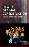 Dewey Decimal Classification, M. P. Satija, 8170006821