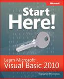 Start Here! Learn Microsoft Visual Basic 2010, Petroutsos, Evangelos, 0735656827