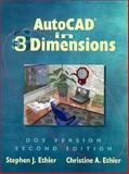 AutoCAD in 3 Dimensions, Ethier, Stephen J. and Ethier, Christine A., 0133626822