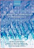 Experimental Approaches to Phonology, , 0199296820