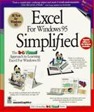 Excel for Windows 95 Simplified, Maran Graphics Staff and Maran, 1568846827