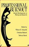 Professional Burnout, Schaufeli, Wilmar and Strauss, Steven, 1560326832
