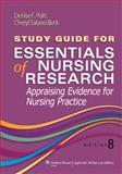 Essentials of Nursing Research 8th Edition