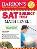 Barron's SAT Subject Test Math Level 1 with CD-ROM, Ira K. Wolf, 0764196839