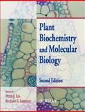 Plant Biochemistry and Molecular Biology, Lea, Peter J., 0471976830