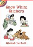 Snow White Stickers, Sheilah Beckett, 0486286835