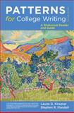Patterns for College Writing : A Rhetorical Reader and Guide, Kirszner, Laurie G. and Mandell, Stephen R., 0312676840