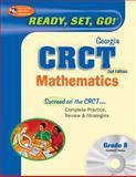 Georgia CRCT - Mathematics, Grade 8, Stephen Hearne and Research & Education Association Editors, 0738606847