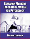 Research Methods Manual, Langston, William, 0534556841