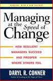 Managing at the Speed of Change 1st Edition