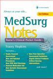 Med Surg Notes : Nurse's Clinical Pocket Guide, Hopkins, Tracey, 0803626851