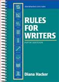 Rules for Writers, Hacker, Diana, 0312406851