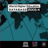World Higher Education Database 2003/2004, International Association of Universities Staff, 1403906858