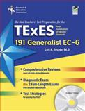 TX TExES Generalist EC-6 (191) w/CD (REA) - The BestTeachers' Test Prep for the TX TExES Generalist EC-6 (191), Rosado, Luis A., 0738606855