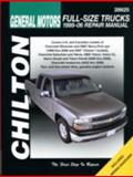 Gm Full-Size Trucks, 1999-06 Repair Manual, Chilton, 1563926865